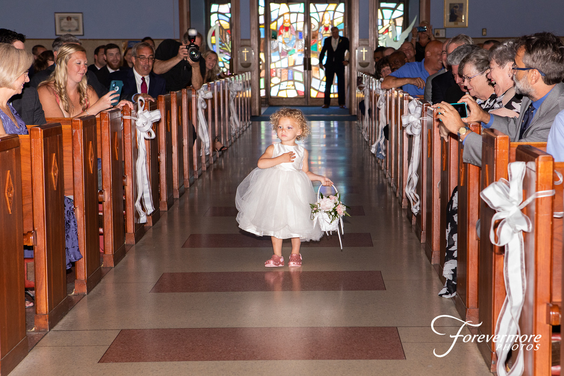 Flower Girl Immaculate Heart of Mary Roman Catholic Church