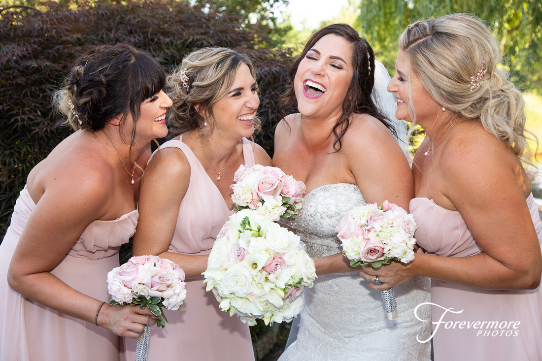 Bridesmaids at Talamore Country Club
