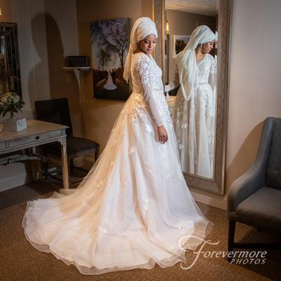 Morning wedding at Talamore in Ambler, PA.